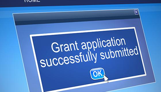 Grant application successfully submitted